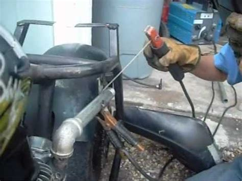 doodlebug exhaust brute power pipes mini bike exahust for honda clone d
