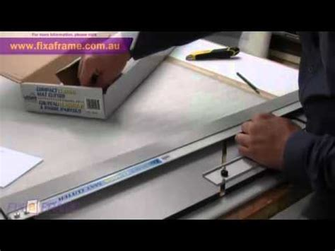 How To Cut Mat Board Without Mat Cutter by How To Cut Picture Frame Mat Boards With A Logan Mat