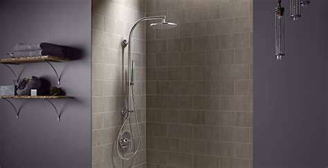 Kohler Showers by Hydrorail 174 Shower Columns Bathroom New Products