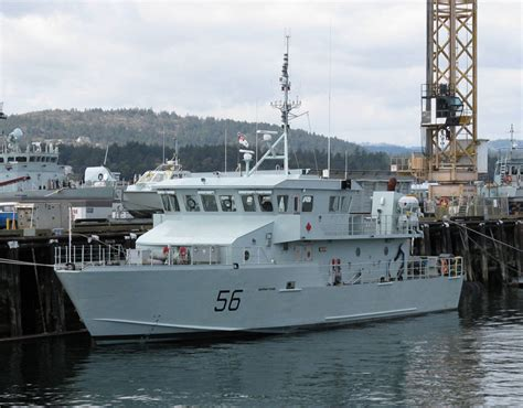 boat rs victoria raven ships of the royal canadian navy