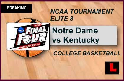 uk basketball schedule march madness notre dame vs kentucky 2015 score ignites ncaa tournament