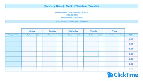 agency timesheet report template free timesheet template printable timesheets clicktime