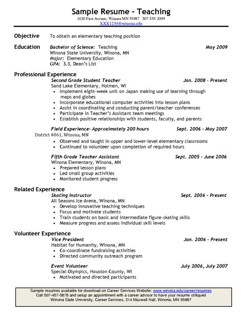 What To Put In A Resume by Resume Where To Put Education Resume Ideas