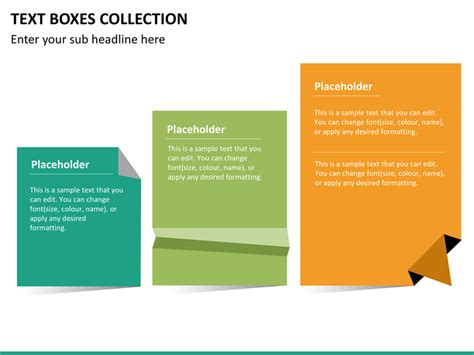Powerpoint Scrolling Text Powerpoint Text Boxes Collection Sketchbubble