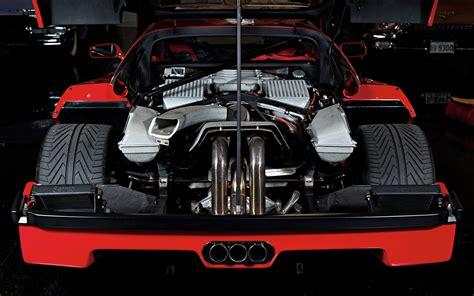 wallpaper engine trial ferrari f40 engine engines supercar supercars wallpaper