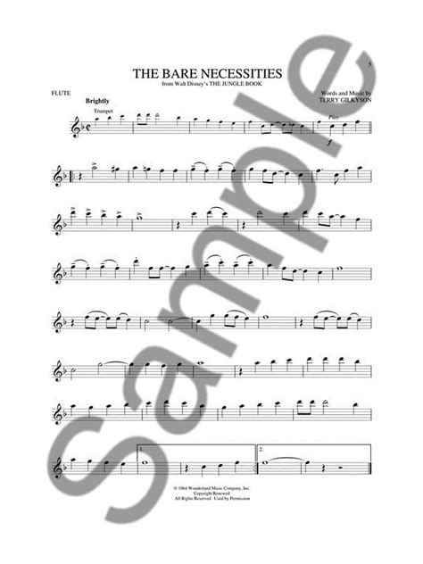 0035200944 play disney songs flute traversiere disney greats flute book online audio flute sheet