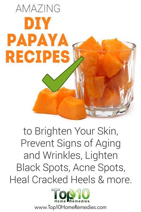 Papaya Seed Detox Recipe by Top 10 Benefits Of Papaya Signs And