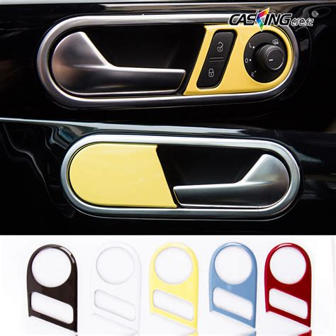New Beetle Interior Accessories by Car Interior Door Handle Trim Chrome Decors Stickers Door