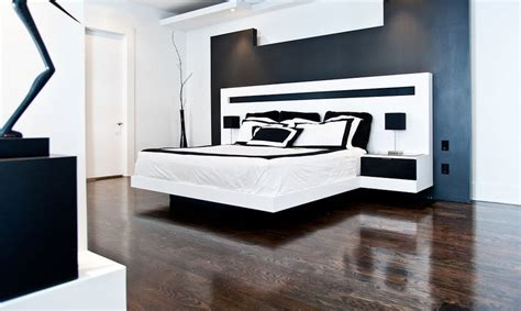 white wood floor bedroom 35 timeless black and white bedrooms that know how to stand out