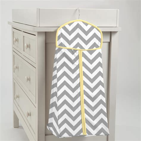 How To Make A Rocking Chair Gray And Yellow Zig Zag Diaper Stacker Carousel Designs