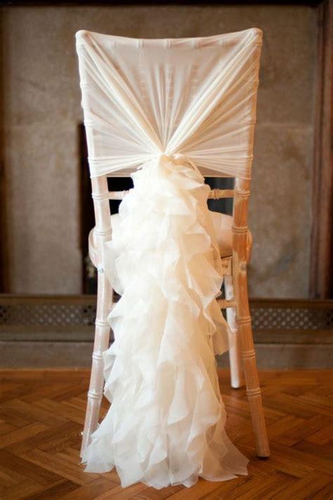 housse de chaise blanche mariage on vous pr 233 sente la housse de chaise mariage en 53 photos