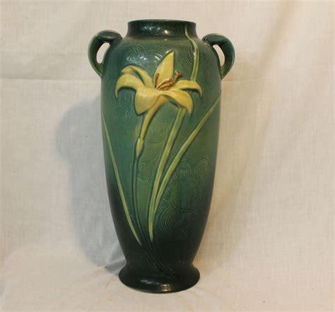 Roseville Zephyr Vase by Bargain S Antiques 187 Archive Roseville Pottery