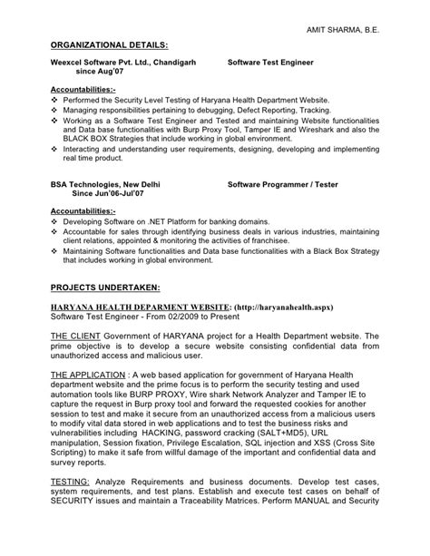 Testing Analyst Resume by Test Analyst 3 Yrs Manual Automation