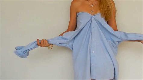 imagenes de como hacer un vestido con tapas como hacer un vestido con una camisa de hombre sin