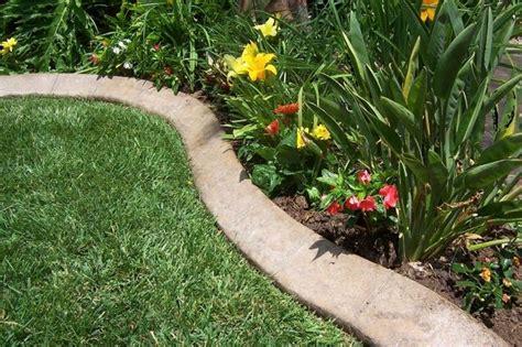 concrete garden edging garden edging