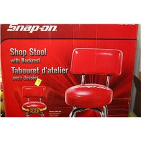 Snap On Stool With Backrest by Snap On 360 Degree Shop Stool With Backrest
