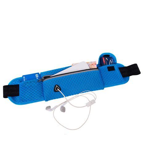 Sport Pouch Belt Orange maiye running bag sports waist bag breathable mesh running belt pouch for smartphone 6