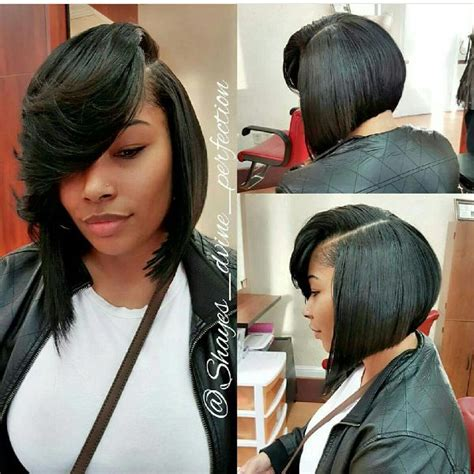 how to wrap a middle part bob weave shaye s d vine perfection