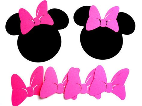 Minnie Mouse Bow Template Cliparts