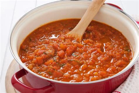 pasta sauce ideas fresh tomato pasta sauce recipe taste com au