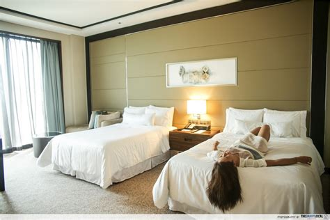 the heavenly bed the westin singapore gives you a legit reason to be in the