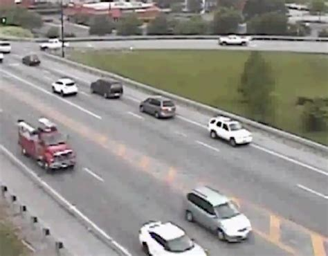 odot video shows suv driving in reverse on busy roads
