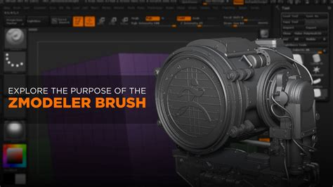 zbrush tutorial zmodeler zbrush tutorial introduction to the zmodeler brush