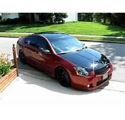 2004 Nissan Maxima SE Turbo Red Heat Takes His Steep