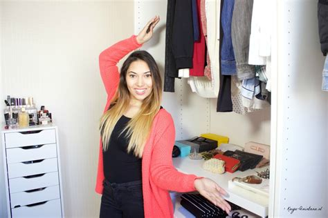 Walk In Closet Tour by Minimalist Walk In Closet Tour Kaya Quintana