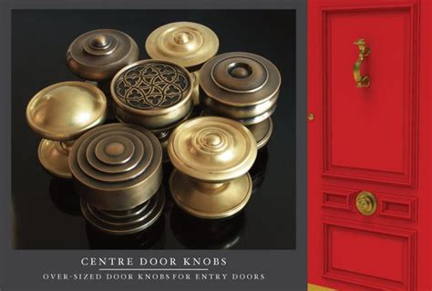 Center Door Knobs by Center Oversized Door Knobs At Sa Baxter Accessories Hardware P