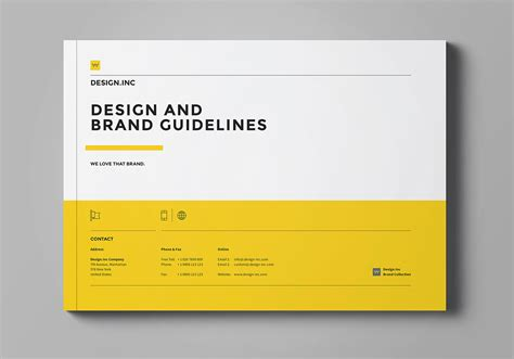 guidelines for layout design brand manual on behance