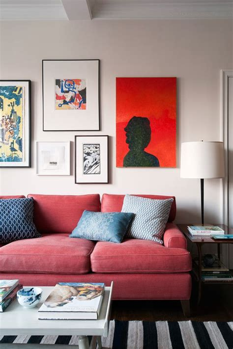 how to decorate with a red sofa 27 red chairs and sofas interior design ideas that