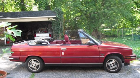 1985 renault alliance convertible renault alliance convertible rare vincecars