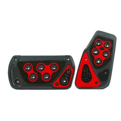 Pedal Pad Kit Racing Style universal voltage automatic racing pedal pad kit pm