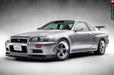 nissan r34 history and facts about the nissan skyline gt r photo