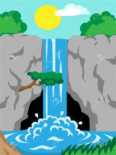 Waterfall Clipart 27 waterfall clipart
