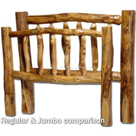 rustic log headboards 42 best bedroom images on pinterest woodwork bedroom