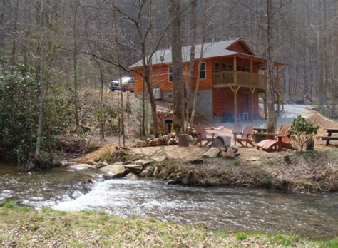 Cabins In Carolina by Yellow Creek Cabin Secluded On Creek N C Vrbo