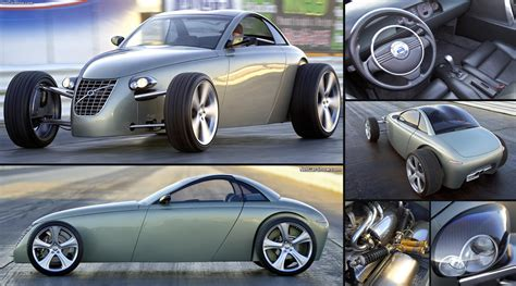 volvo roadster volvo t6 roadster concept 2005 pictures information