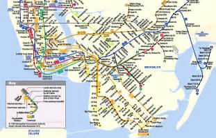 Subway Map Mta by Mta Nyc Transit Full System Map