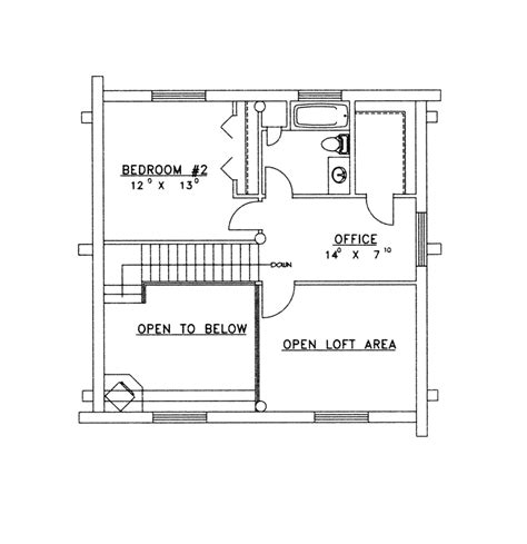 vacation home floor plans lone eagle vacation log home plan 088d 0061 house plans