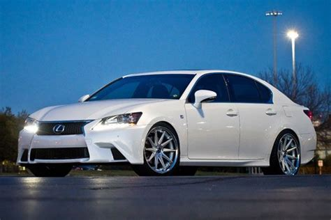 lexus isf silver 19 quot lexus isf rohana rc10 silver concave staggered wheels