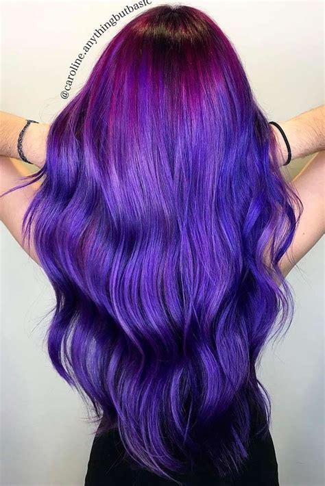 hair with purple streaks 25 best ideas about purple streaks on purple