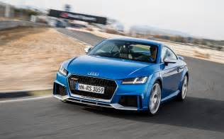 2018 audi tt rs we re driving it on the track this week