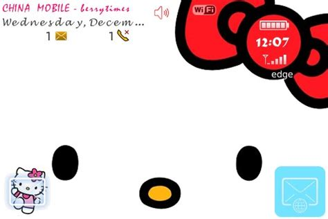 theme hello kitty untuk blackberry hellokitty blackberry themes free download blackberry