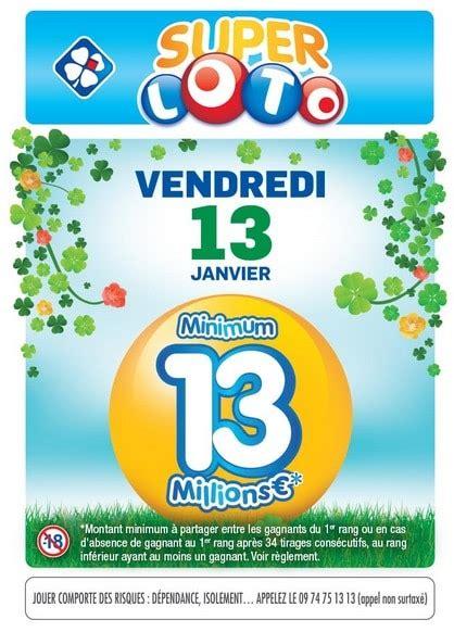 Grille Loto by Shopmium Grille Loto Vendredi 13 224 1 Au Lieu De 2