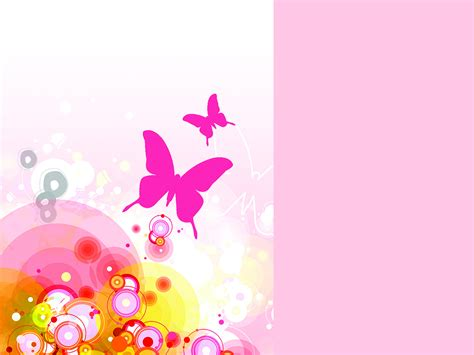floral powerpoint templates floral pink abstact ppt backgrounds floral pink abstact