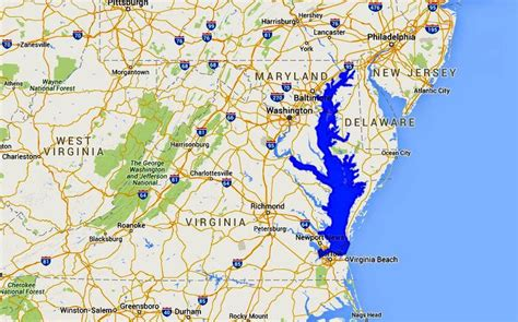 maryland bay map maps of the chesapeake bay rivers and access points