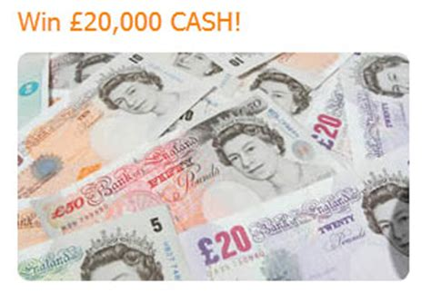 Free Competitions To Win Money Uk - win 163 20 000 cash