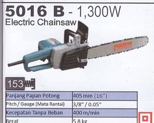 Makita 5016b Makita 5016 B Chain Saw Listrik product of pneumatic tools supplier perkakas teknik distributor perkakas teknik glodok